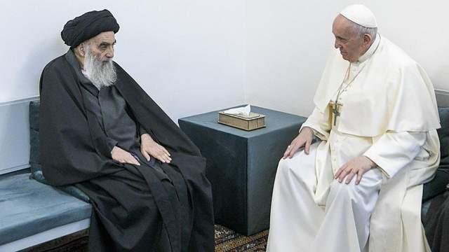 Папа Римський з лідером шиїтів Іраку