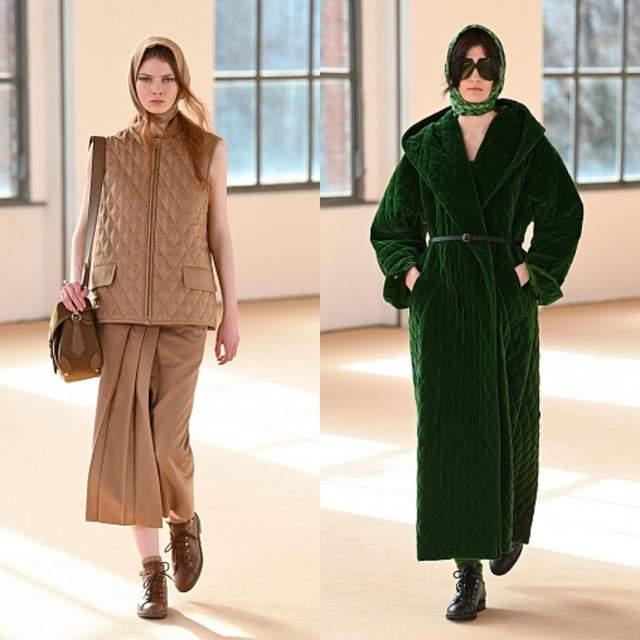 Тренди осені представлені на Тижні моди в Мілані