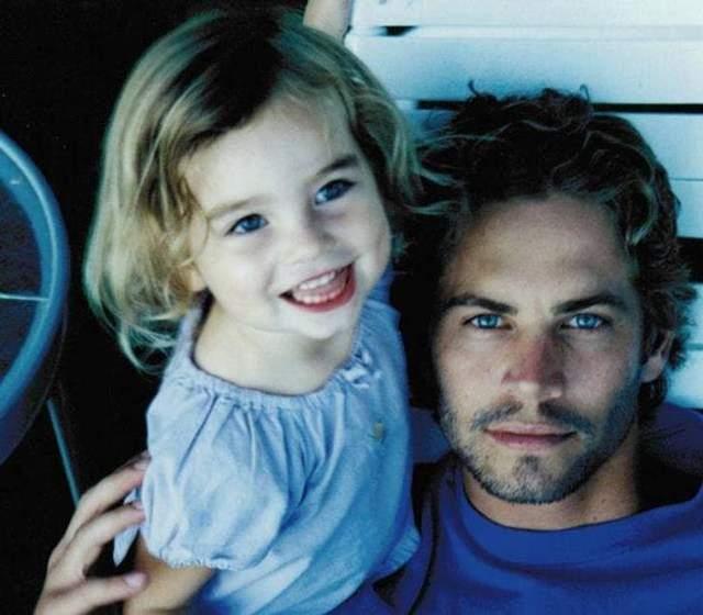Пол Уокер з донькою Мідоу