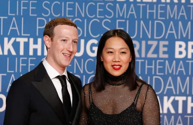 Марк Цукерберг и его жена Присцилла Чан / Getty Images