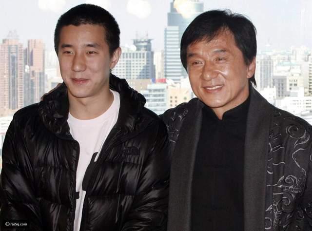 Джеки Чан вместе с сыном