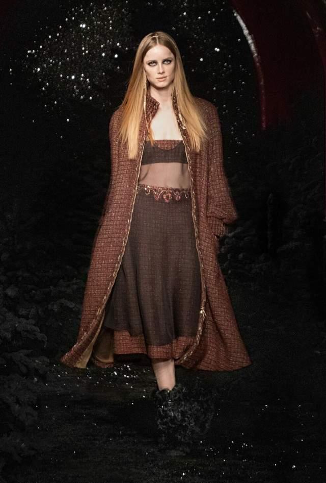 Показ Chanel осінь – зима 2021/2022