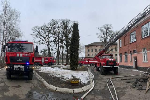 пожежа в лікарні шепетівки