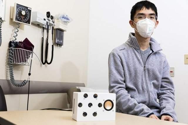 Колонка вимірює серцевий ритм на відстані до 60 сантиметрів