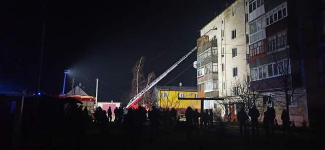 Будинок де сталася пожежа
