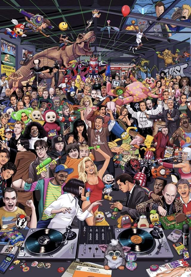 Головоломка тижня: скількох героїв 90-х ти впізнаєш
