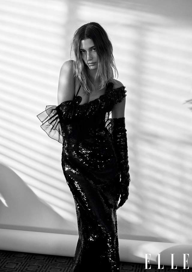 Гейлі Бібер знялася у фотосесії для Elle