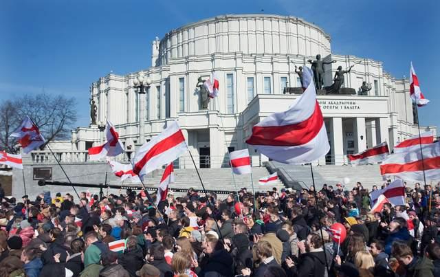 В Беларуси во время празднования Дня воли задержали более 200 человек