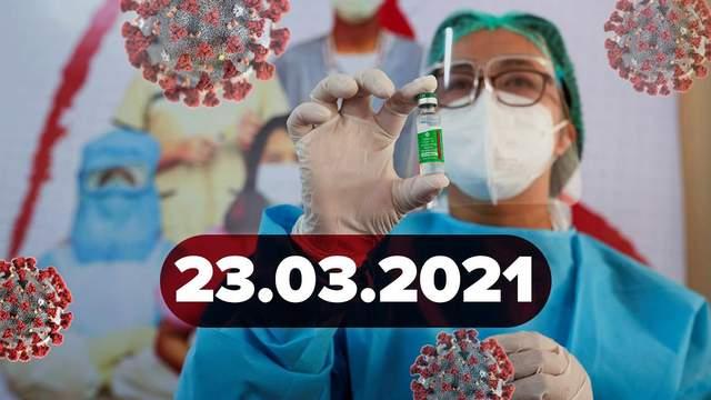 Новини про коронавірус 23 березня: рекорд смертності в Україні, продаж ковід-паспортів у даркнет
