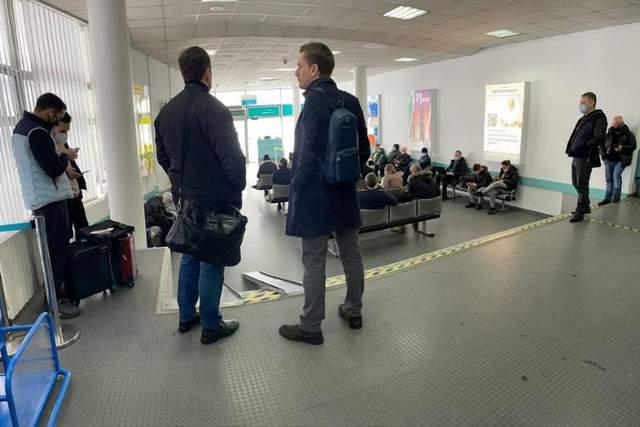 Дніпро затримки аеропорт Літак