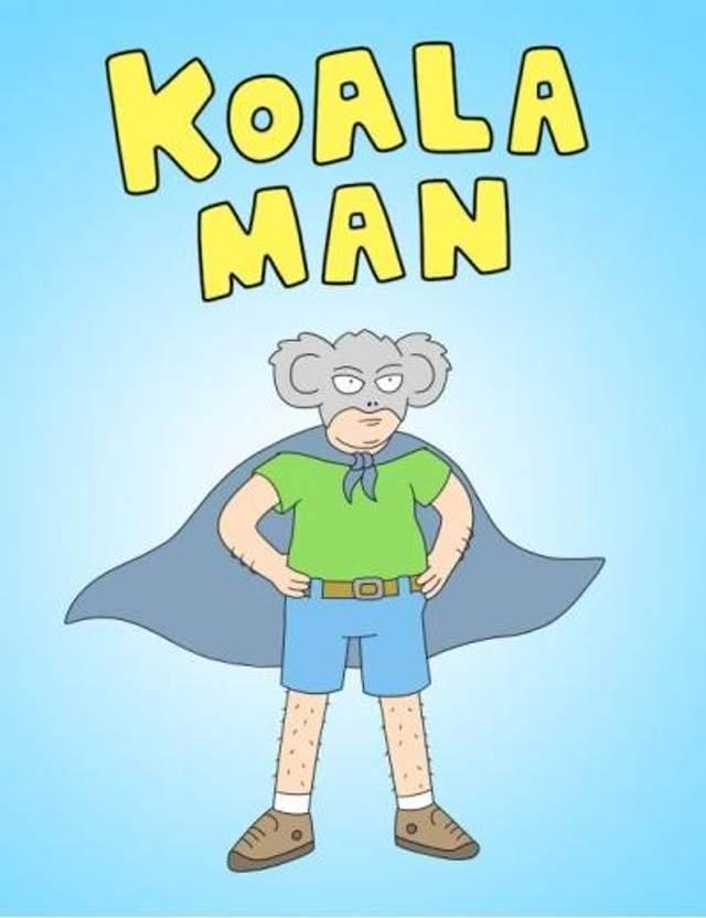 Мультсеріал про мужика в костюмі коали: автор