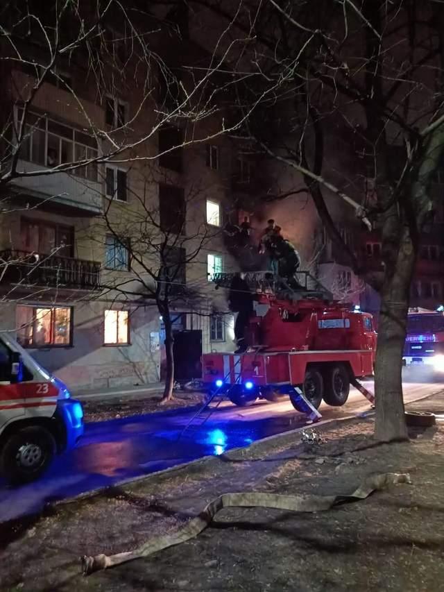 Пожежа в Івано-Франківську 28 березня