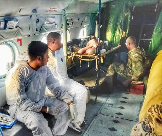 Евакуація конголезьких військових