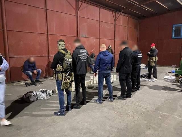 наркотики кокаїн контрабанда Одеса порт СБУ