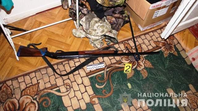 Рушниця, з якої стріляв чоловік