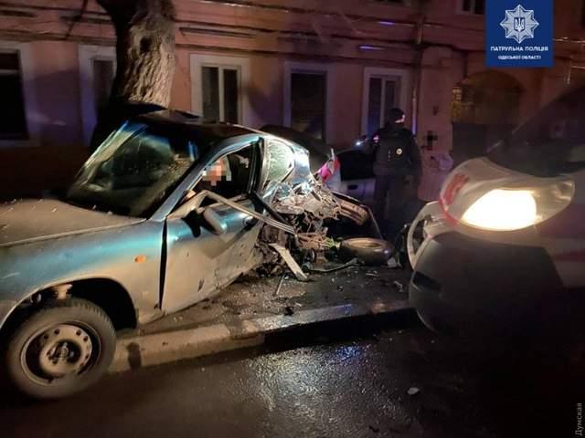 Фото ДТП на Пересипу в Одесі