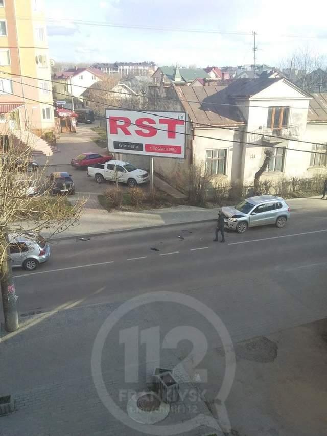 ДТП Франківськ Аварія Чиновник Мерія