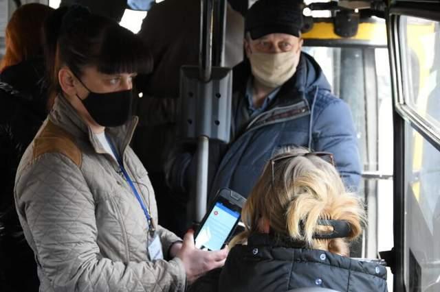Перевірка в Луцькому транспорті