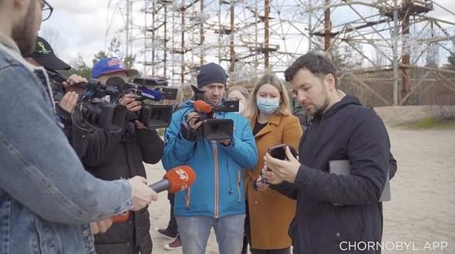 У Чорнобильській зоні відчуження «ожив» мурал на ЧАЕС і заговорив аудіогід