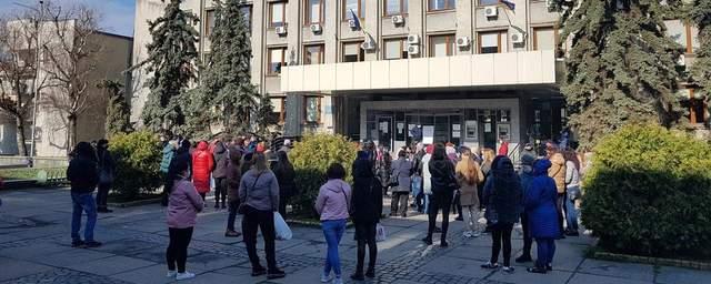 акція протесту ужгород міська рада