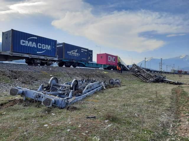 Аварія потягів в Туреччині