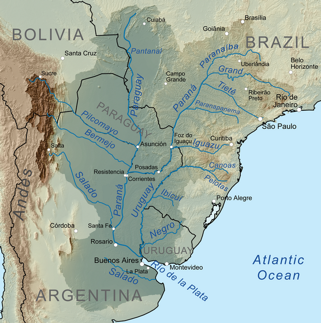 водозбірний басейн Ріо-де-ла-Плата