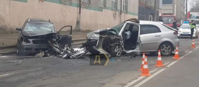 аварія в Одесі в Малиновському районі
