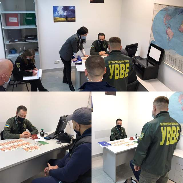 У Борисполі росіянин пропонував 75 тисяч рублів за перетин українського кордону