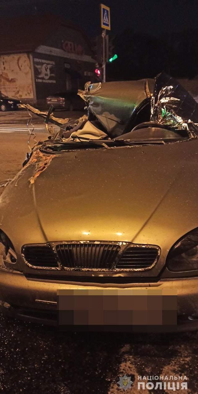 Аварія Харків Трагедія Смертельна ДТП  Daewoo Lanos