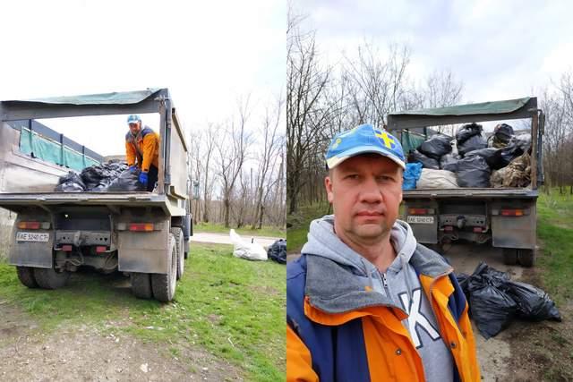 Ініціатор ліквідації сміттєвзалища під Дніпром