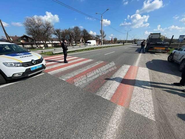 Траса Дніпро Запоріжжя  ДТП збив дітей Pugeot аварія поліція