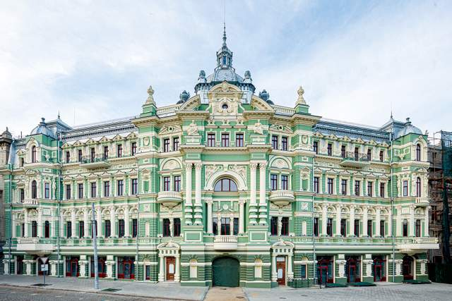 Будинок Русових в Одесі подорожі Великдень цікаві небанальні місця