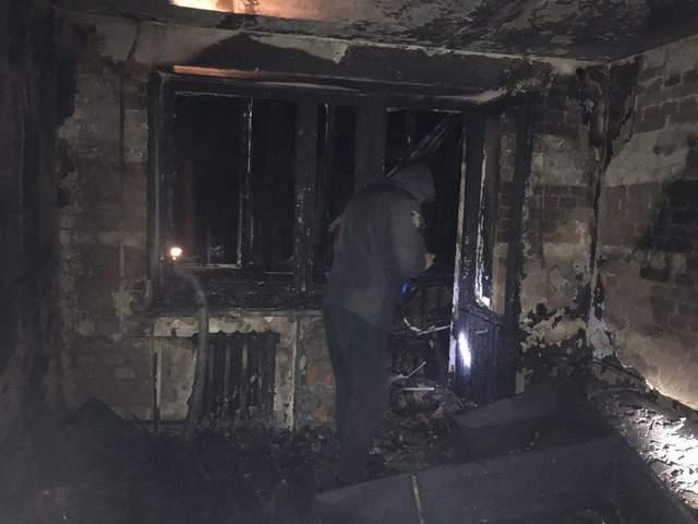 Квартира згоріла