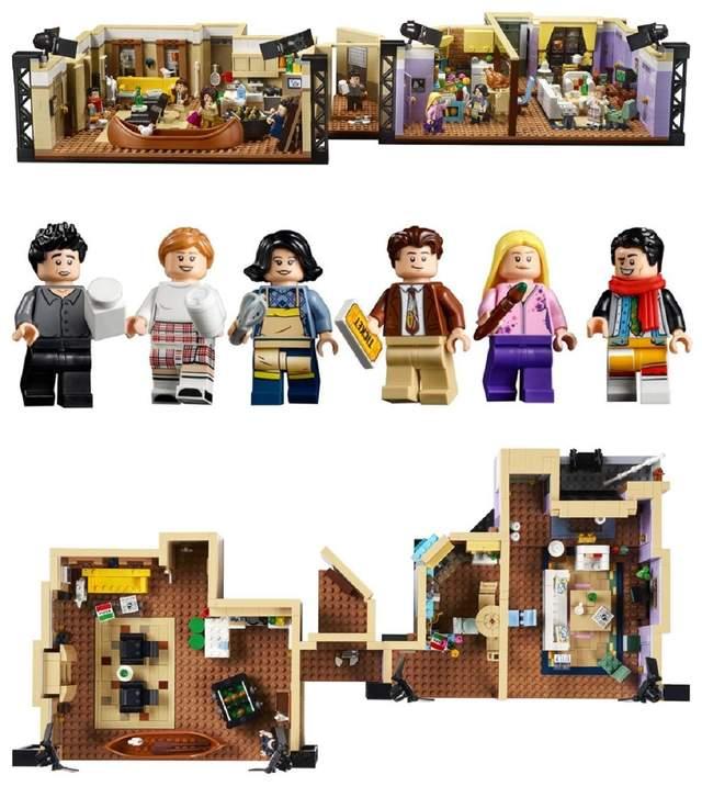 Lego выпустит новый конструктор по сериалу Друзья: фото - Развлечения
