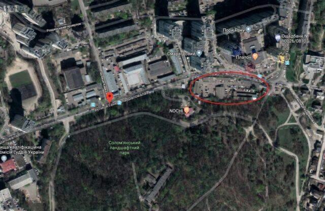 ДАБІ, Денис Комарницький, забудова центру Києва