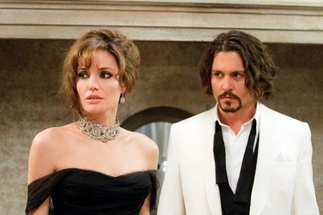 Джонні Депп з Анджеліною Джолі