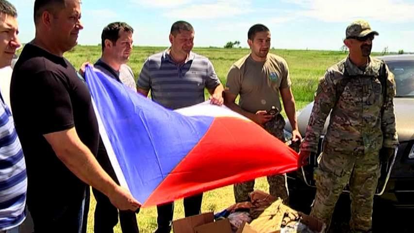 Українські бійці отримали допомогу від волонтерів із Чехії
