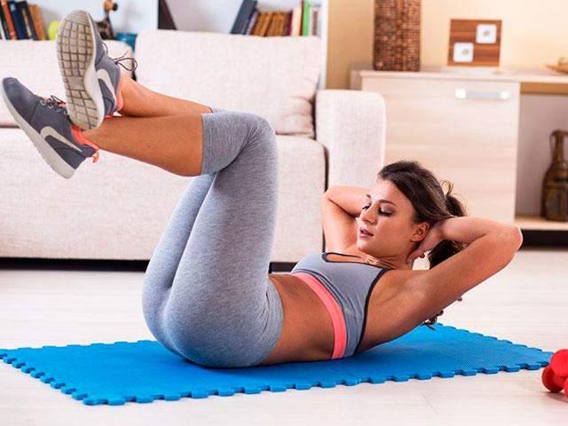 Упражнения помогут держать тело в форме