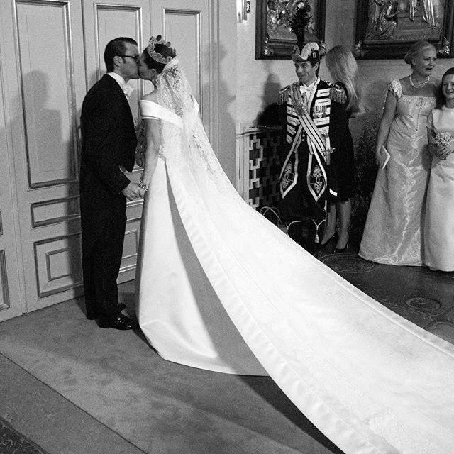 Розкішна весільна сукні принцеси Швеції