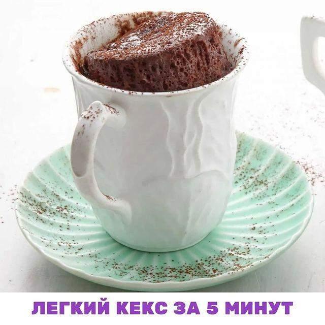 Шоколадний кекс нашвидкуруч