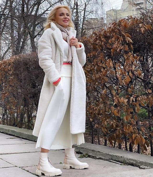 Лілія Ребрик показала стильний зимовий аутфіт