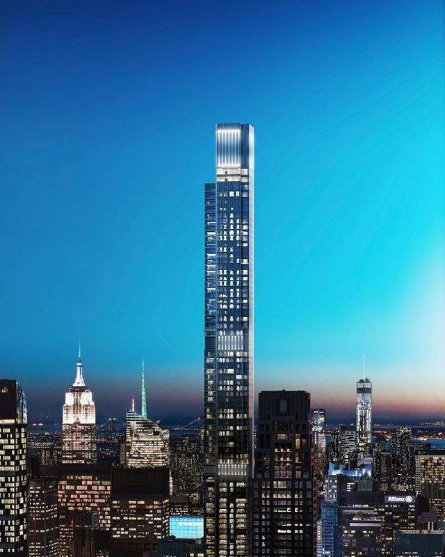 Адреса даного житлового комплексу 57th Street in Midtown Manhattan / Фото The Tower Info