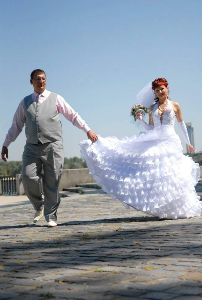 Свадебные фото стали более разнообразными, 2007