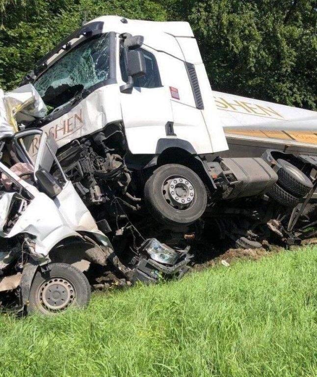 Аварія у Львівській області 10 липня 2020