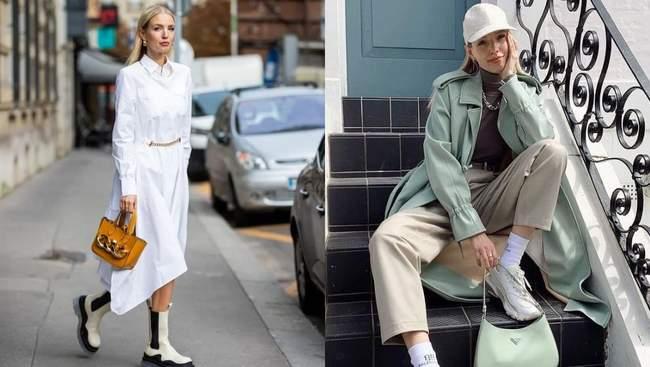 4 модних прийоми Леоні Ганне для бездоганних осінніх образів: стильні аутфіти