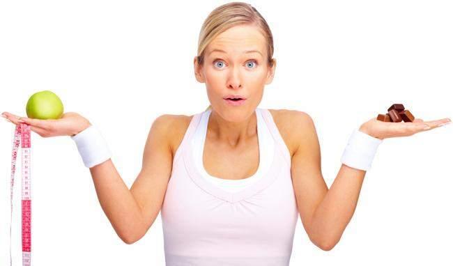 Зайва вага з'являється через надмірне споживання калорій