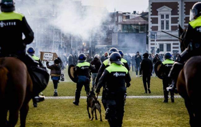 Протест в Амстердамі