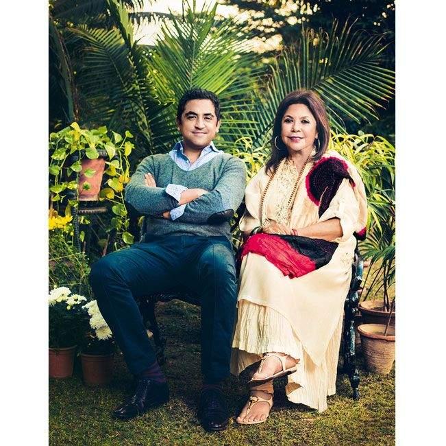 Рита Кумар з сином