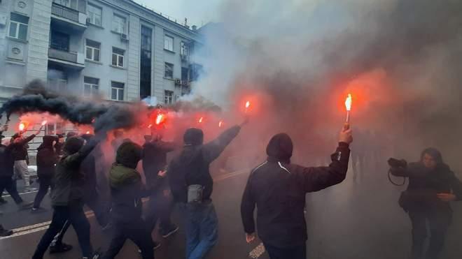 Протести у Києві на підтримку Стерненка