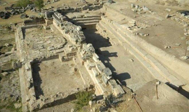 Так сьогодні виглядають руїни храму